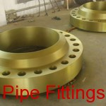 yellow weld neck flanges