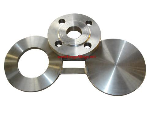 stainless steel figure 8 blind flange